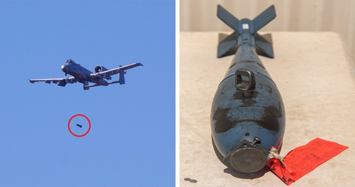 USAF Warns Public Not to Go Near after A-10 Mistakenly Drops three BDU-33 Training Munitions