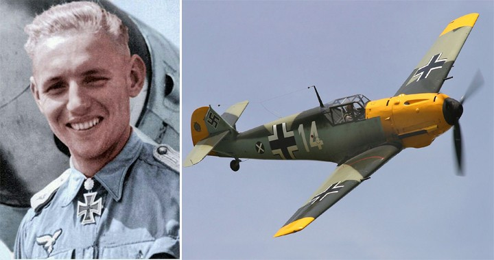 World War II fighter pilot who Scored 352 Aerial Victories