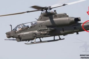 AH-1Z Viper Helicopters Spotted With Blacked Out Pakistan Markings