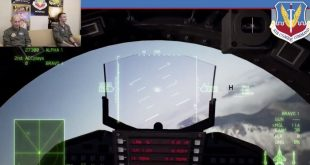Head of Air Force's Air Combat Command dogfights his son on Twitch in Ace Combat video game