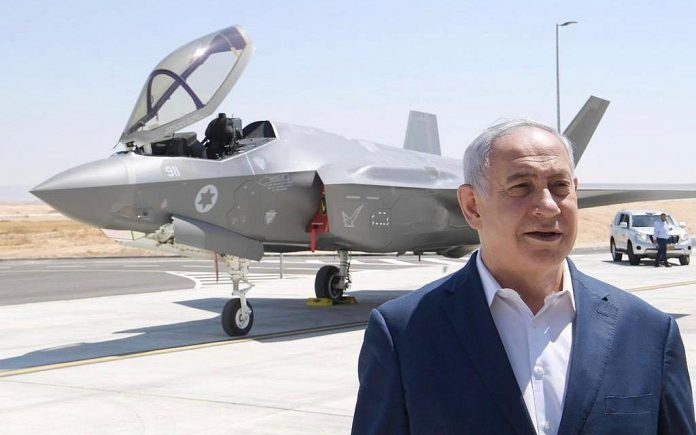 Netanyahu warns Iran that Israel's F-35I can reach anywhere in the Middle East
