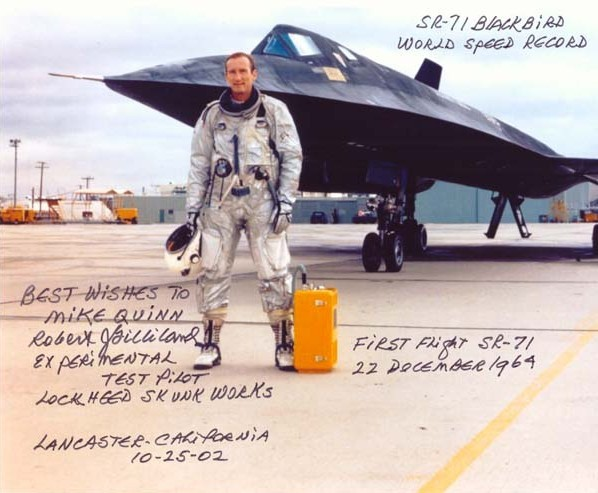 The First Man to fly the iconic SR-71 Blackbird