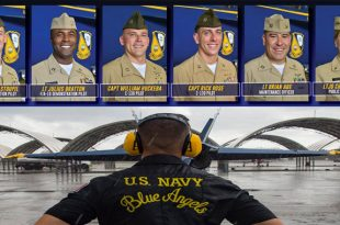U.S. Navy Blue Angels 2020 officer selections: An F-35 pilot is joining for the first time