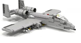 Video Shows How You Can Make An A-10 Warthog Out Of Legos