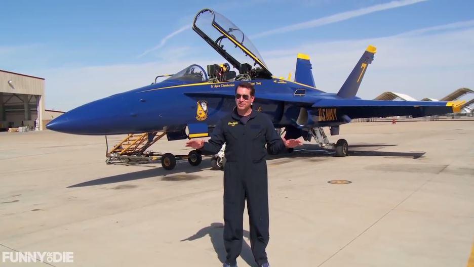 Watch Actor Rob Riggle's Top Gun: Maverick Audition Tape