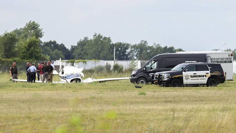 Aero Commander 200D plane crashes at Spencer J. Hardy Airport, two dead