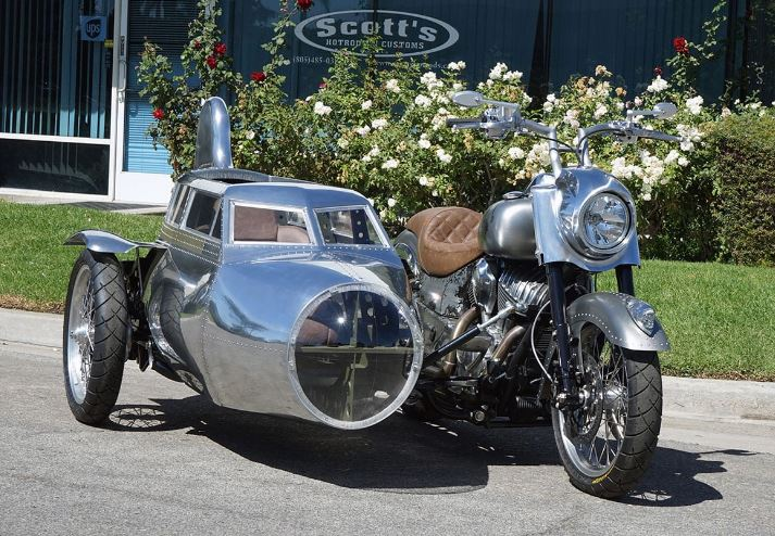 Here's A Boeing B-17 Flying Fortress Bomber Inspired Indian motorcycle