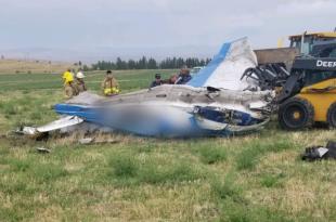 Beechcraft 35-B33 Debonair plane crashed near St. Ignatius, 3 dead
