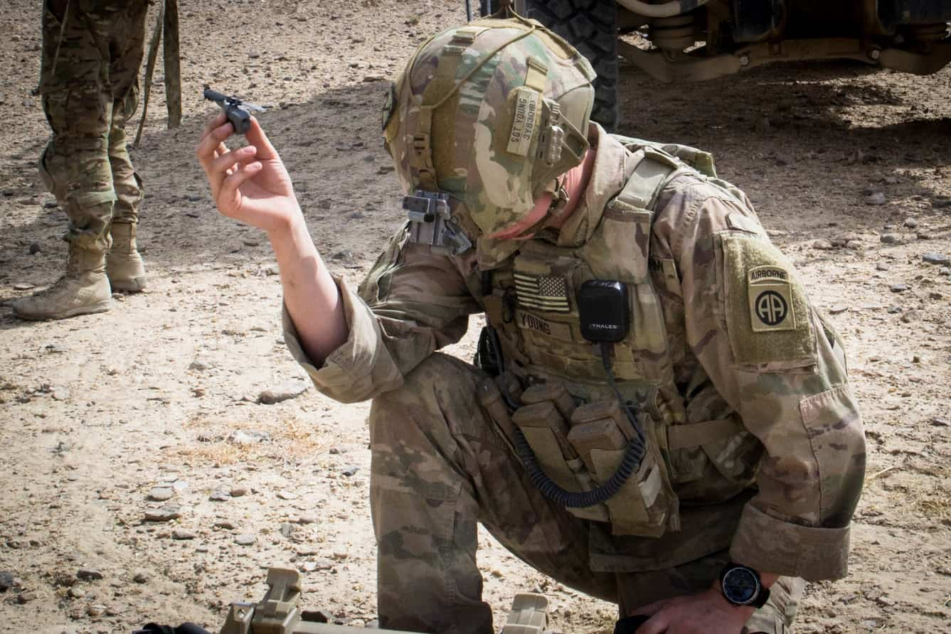 U.S. soldiers in Afghanistan are using awesome pocket-sized Black Hornet spy drones