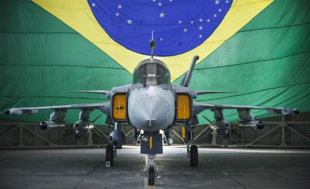 Brazil Air Force First Saab JAS 39E/F Gripen NG Spotted at Linköping-Vårdsberg