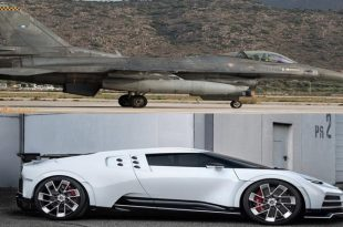 Why Buy A Bugatti Centodieci When You Can Have F-16 Fighter Jet For Less