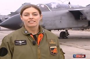 Tribute to Italian Air Force First Female Fighter Pilot Died In Panavia Tornado Mid-air collision