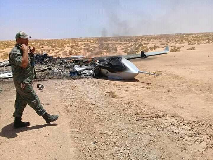 Chinese drone with AKD-10 AtG missile shoot down in Libya
