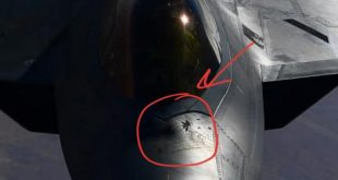 Damaged F-22 Stealth Fighter Jets with Crumbled Radar-Absorbing Coating Spotted over Syria
