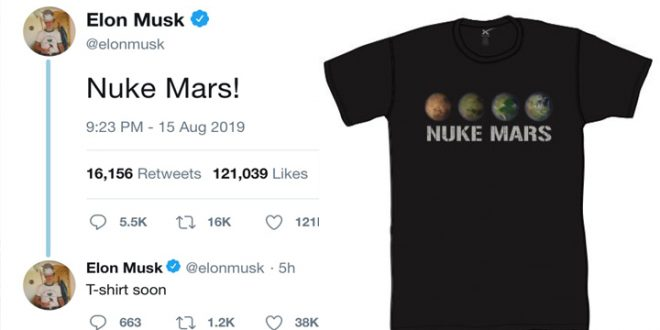 Why Elon Musk Wants to Drop Nuclear Bombs on Mars?