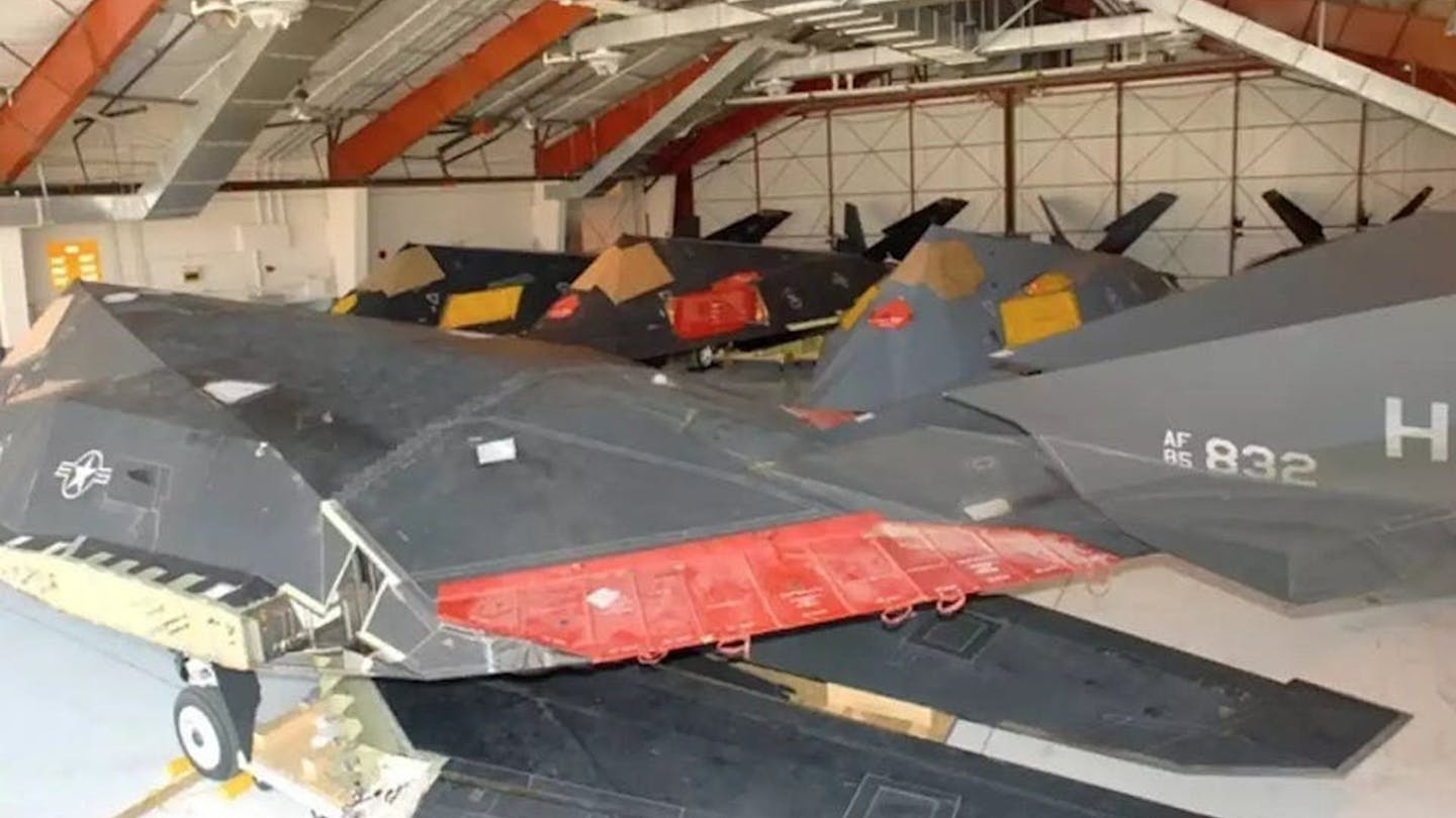 Decade After F-117 Stealth Jets Retirement 51 Nighthawk Still Remain In Inventory