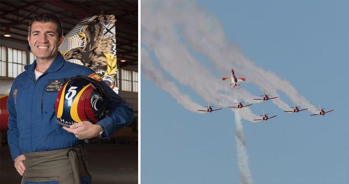 Francisco Marín Núñe Former Patrulla Aguila pilot Dies in plane crash in sea