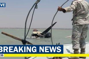 Iranian Air Force F-4E Phantom II fighter jet crashes into Persian Gulf