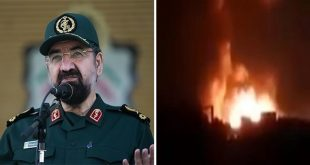 IRGC Denies Any Iranian Position In Syria Were Hit In Recent Israeli Air Strike