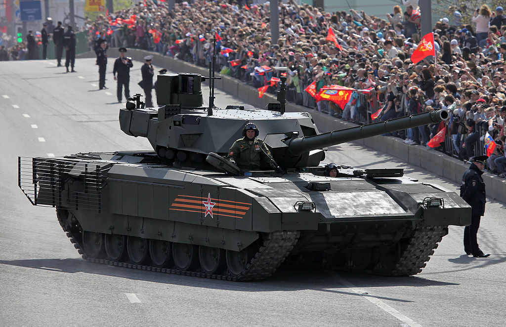 Russia To Offer Next Generation T-14 Armata Tanks Deal To India For $4.5 Billion