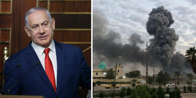 Netanyahu Hints Israel Behind Air Strikes In Iraq On Iran-Backed Militant positions