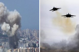 Israeli Air Force Carried Out Air strikes On Palestinian Base In Lebanon