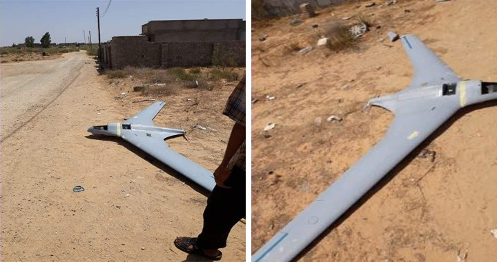 Two Israeli-made Orbiter-3 tactical Drone shot down in Libya