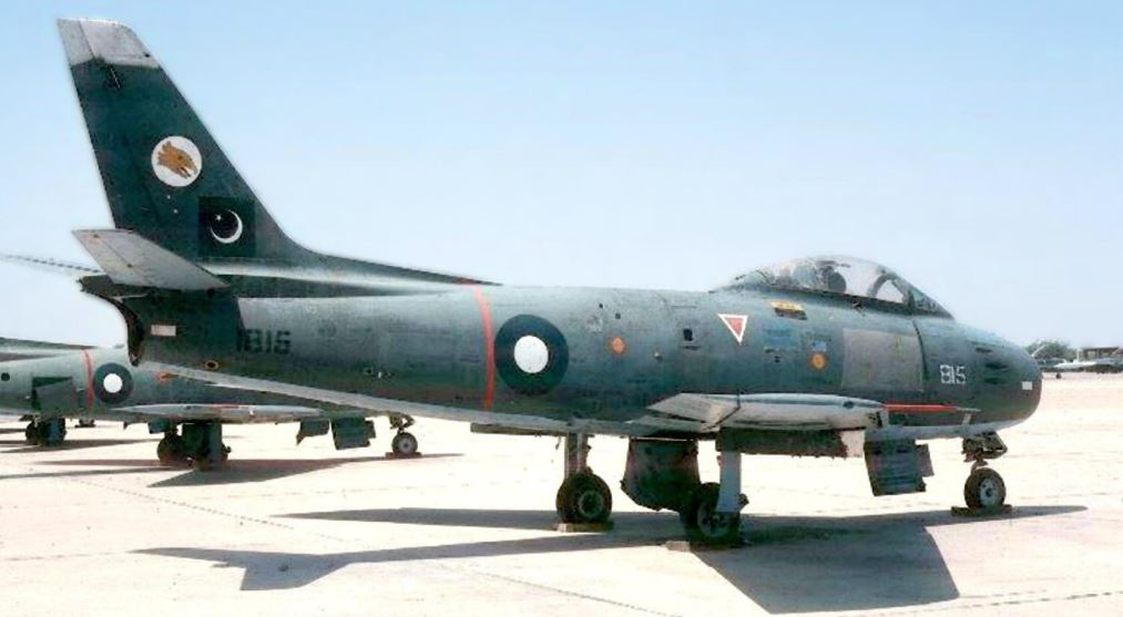 That time a PAF F-86 Sabre jet fighter shot down an Indian plane carrying Chief Ministers of Gujarat