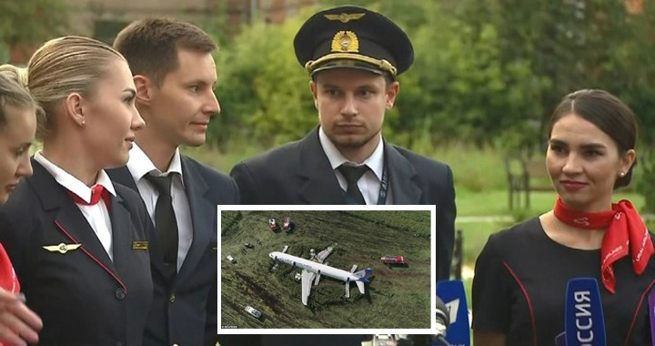 Hero pilot and crew who landed Russian plane in cornfield and saved 233 Lives