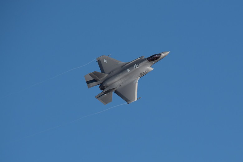 U.S. Air Force set a speed record for bringing online a newly-delivered F-35A fighter jet