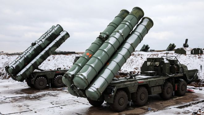 Russian S-400 Air defense teams go on high alert to repel enemy missile strike in Baltic Fleet drills