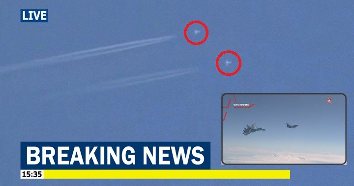 Russian Su-35 allegedly intercepted Turkish F-16