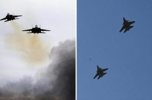 Russian Su-35s Allegedly Forced Israeli Warplanes To Abandon Second Wave of Airstrikes on Syria