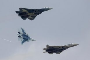 Russia Unveils Su-57E Export Version of 5th Generation Fighter Aircraft at the MAKS 2019 Airshow