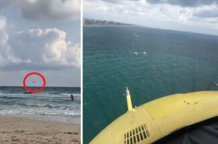 Spanish Air Force CASA C-101EB Aviojet Crashed Into Sea along the Seashore