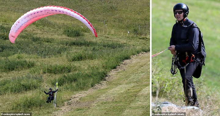 57 Year Old Top Gun: Maverick Star Tom Cruise Spotted Taking Paragliding In The French Alps