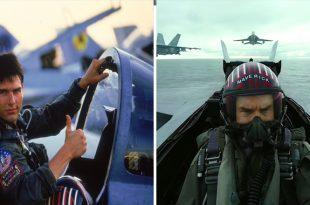 Top Gun (1986) Vs Top Gun: Maverick (2019) Trailer Comparison