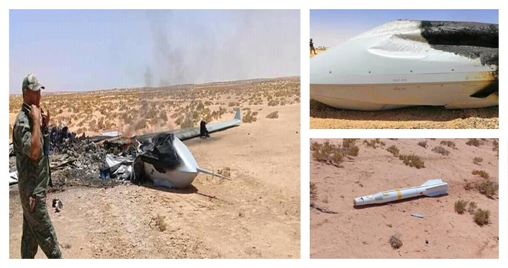 UAE-purchased Chinese drone with AKD-10 AtG missile shoot down in Libya by GNA