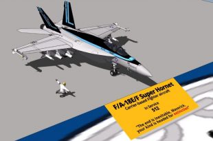United States Navy Aircraft Type and Size Comparison 3D Video