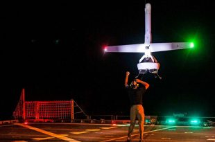 U.S. Navy testing Game Changer V-Bat Vertical Takeoff And Landing Drone