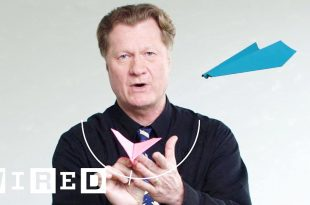 See How This Guy Folds and Flies World Record Paper Airplanes