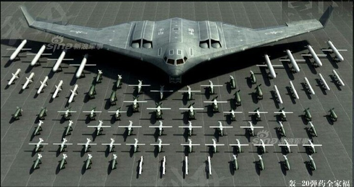 Xian H-20 Stealth Bomber: China's Copy of U.S. Air Force B-2 Spirit Bomber