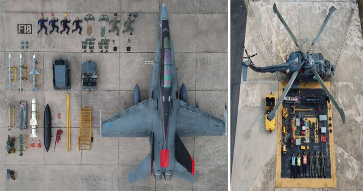 "Air Forces Are Using Fighter Jets To Take Awesome ""Tetris Challenge"" To New Heights"
