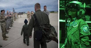 Pilot For A Day: Ayden Houston Named an Honorary Pilot at the 179th Airlift Wing