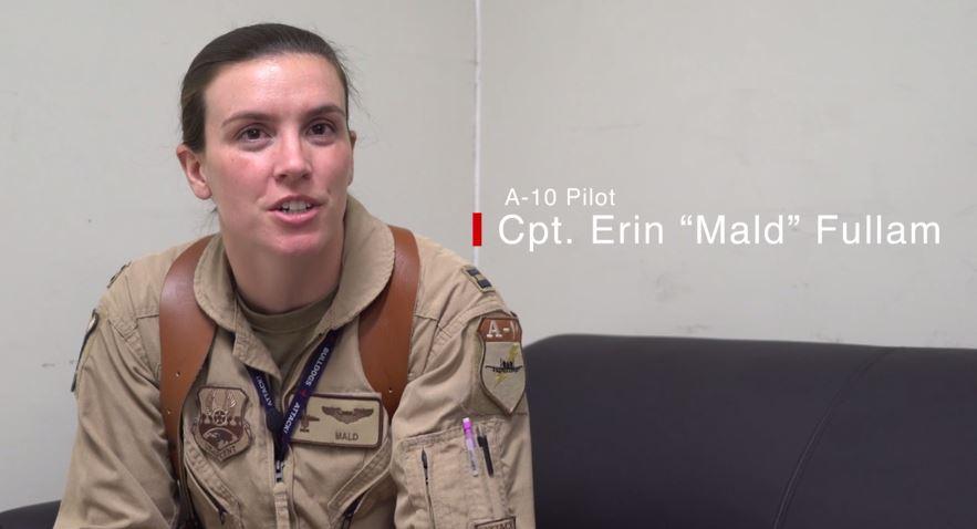 """Capt. Erin """" Mald"""" Fullam"""