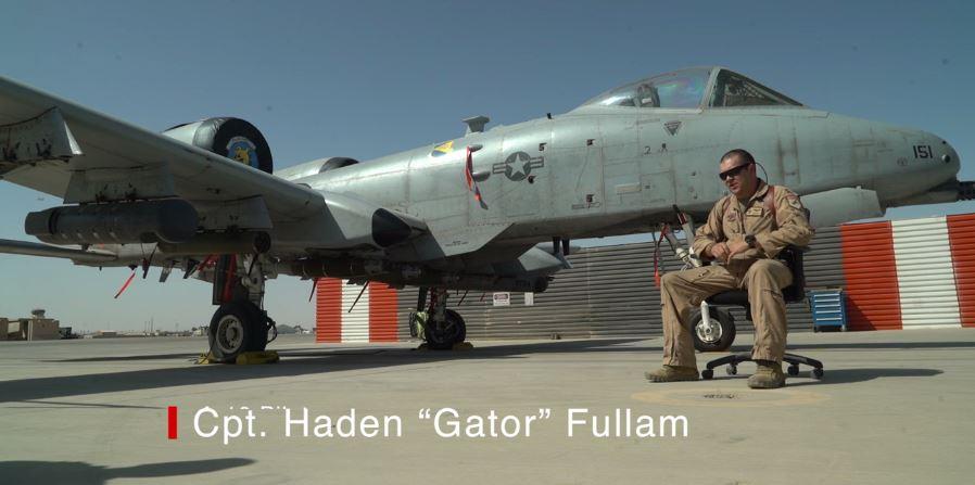 "Capt. Haden ""Gator"" Fullam"