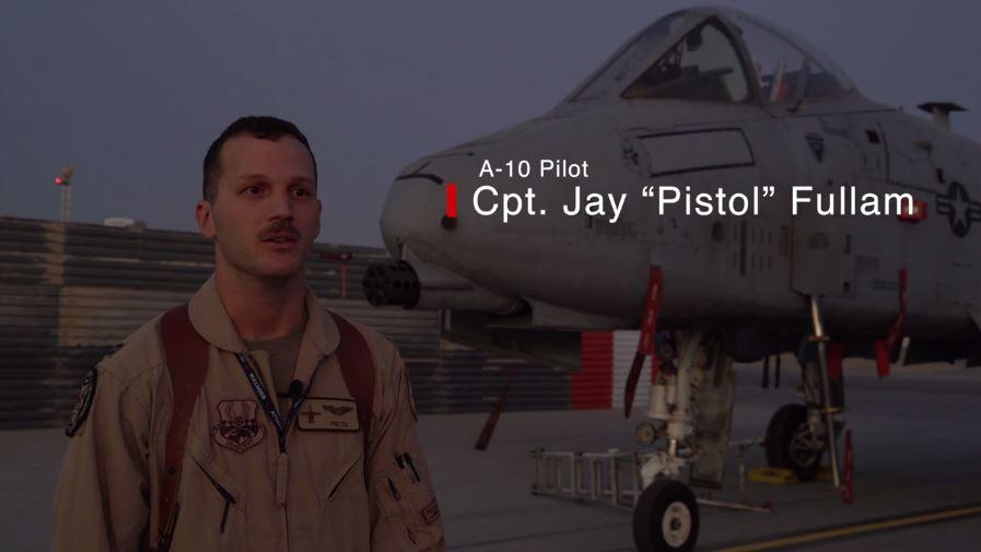 """Capt. Jay """"Pistol"""" Fullam"""