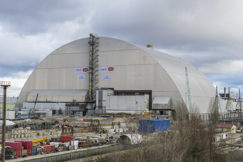 Chernobyl's 'Sarcophagus' Is Getting Dismantled Due To 'Very High' Probability Of Collapse