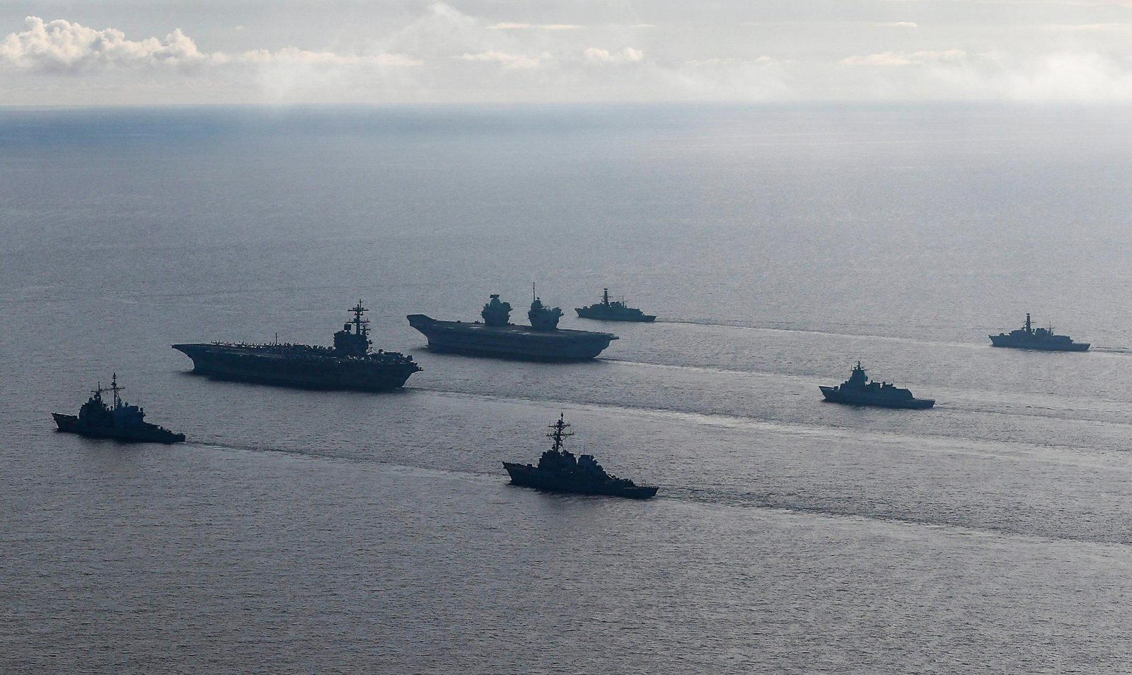 China Warns Of Serious Consequences If Britain and US sends Aircraft carrier into disputed waters