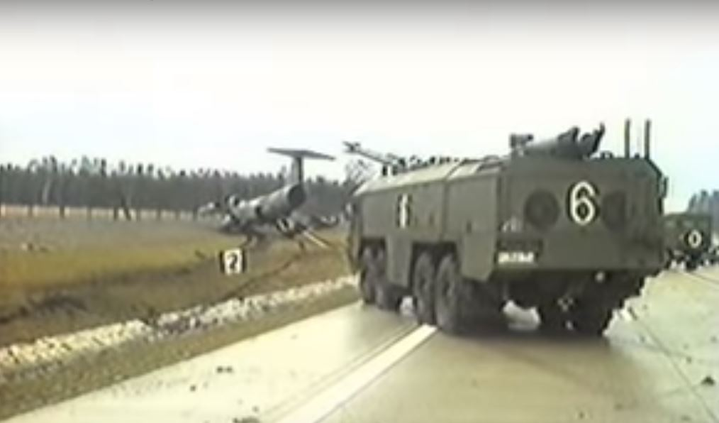 Luftwaffe F-104 Starfighter Landing On Autobahn A 29 And Ending Nose-down On Grass